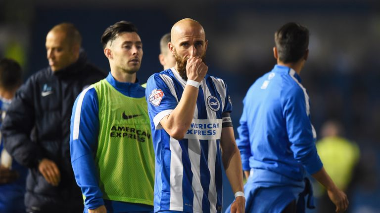 Brighton missed out in the play-offs for three of the past four seasons