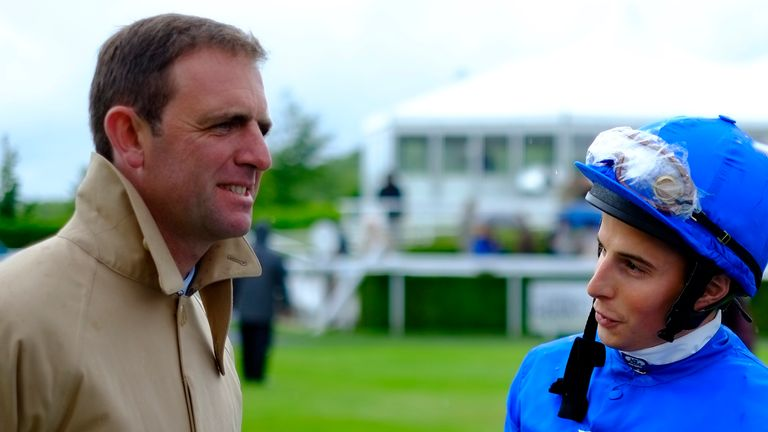 Charlie Appleby chats with William Buick