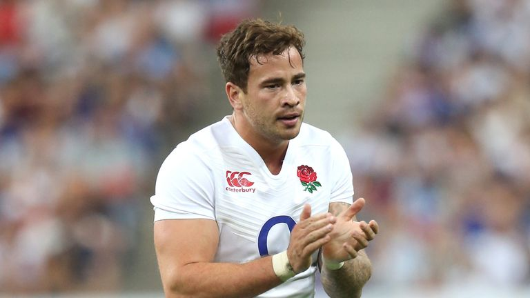 Danny Cipriani has not played for England since a Test against France in 2015