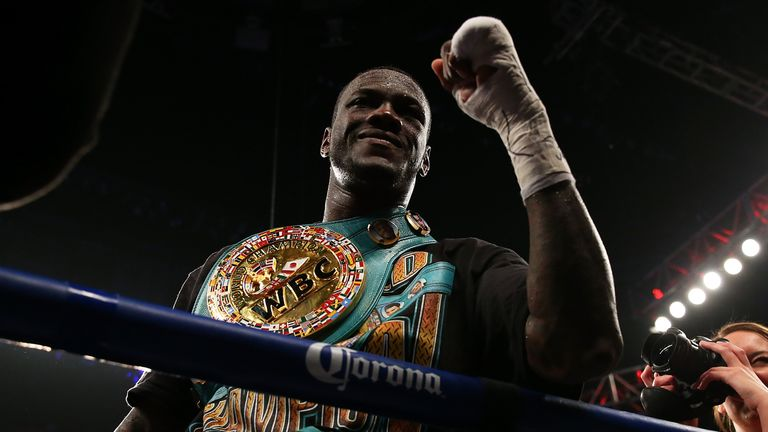 Deontay Wilder is eager to face Anthony Joshua in a heavyweight unification clash