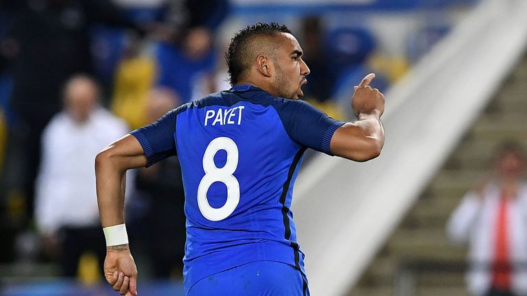 Dimitri Payet scored the winner against Cameroon