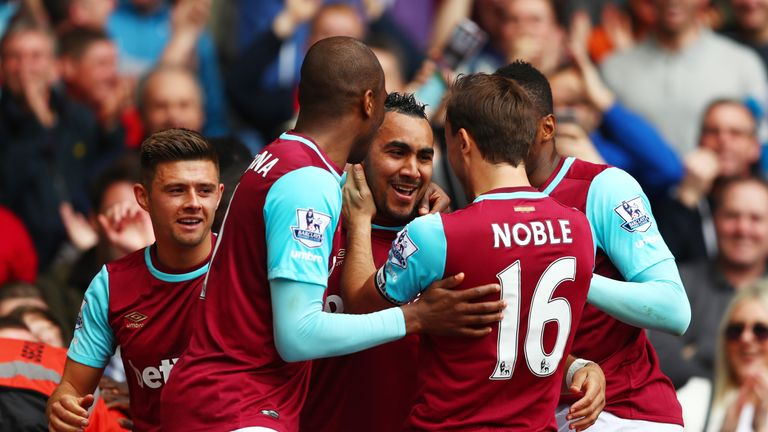 West Ham were heavily beaten at home to Swansea