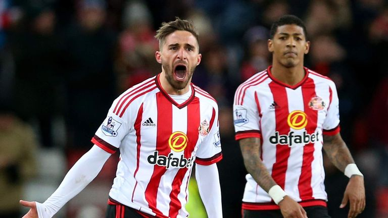 Fabio Borini and his Sunderland team-mates have lost just one of their last nine league games