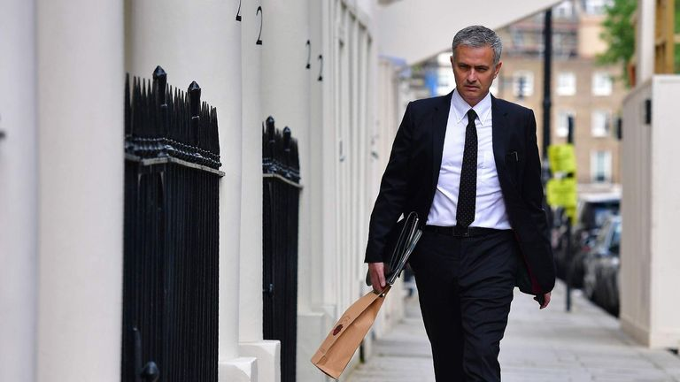 Mourinho was able to walk home without any 'bad words' from fans even in the difficult times