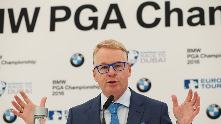 European Tour chief executive Keith Pelley announced there are changes planned for Wentworth