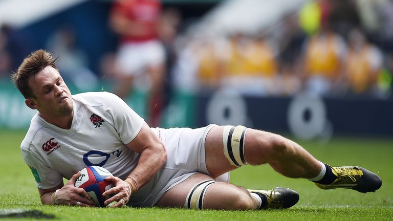 Jack Clifford is facing 10 weeks on the sidelines and will miss England's autumn Tests