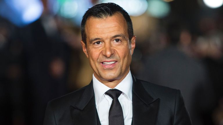 Agent Jorge Mendes has had a big influence at Wolves