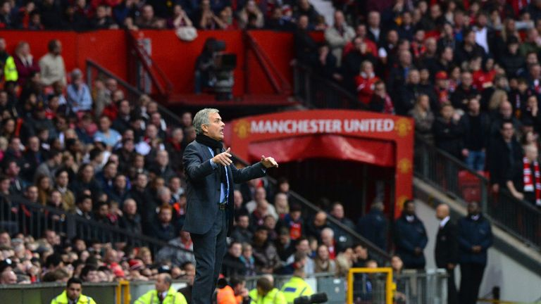 Mourinho was happy to bide his time until Manchester United came calling