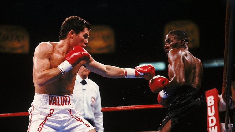 Julio Cesar Chavez owns a win over Roger Mayweather