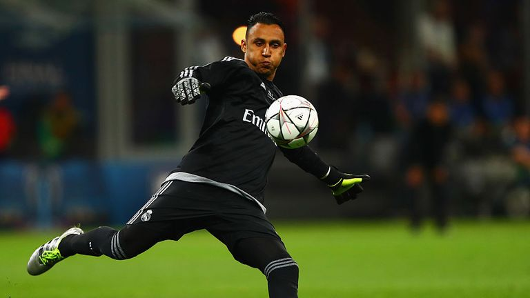 Keylor Navas could make his first start of the season for Real Madrid