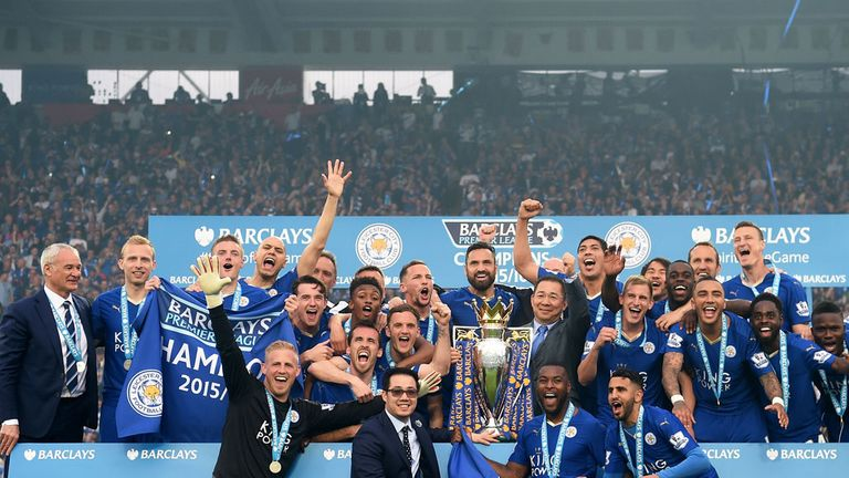Leicester head to Chelsea on the final day of the season as Premier League champions