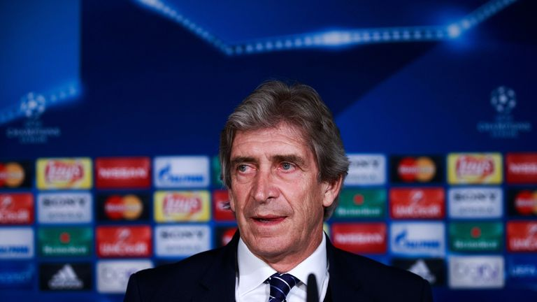 Manuel Pellegrini lost all four of his Champions League clashes with Barcelona