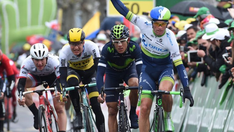 Michael Albasini won the final stage