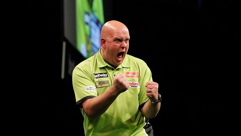 what darts does michael van gerwen use