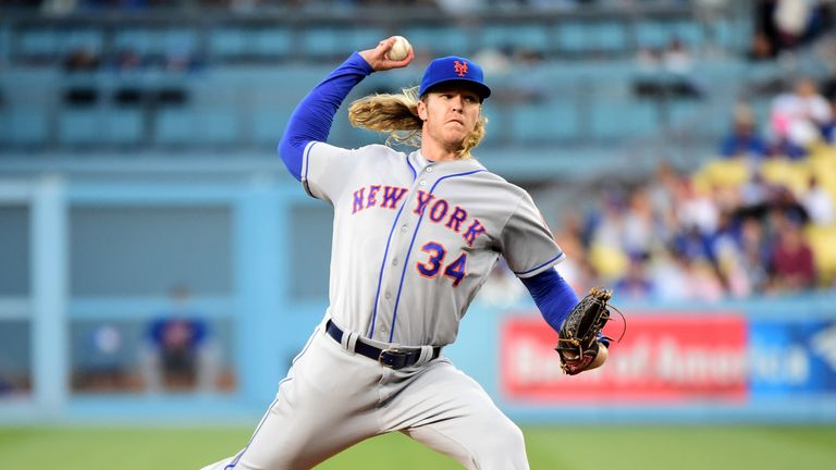 Noah Syndergaard is the MLB's most exciting pitcher