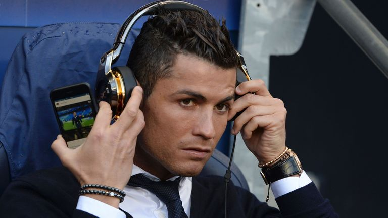 Cristiano Ronaldo is contracted to Real Madrid until the summer of 2018