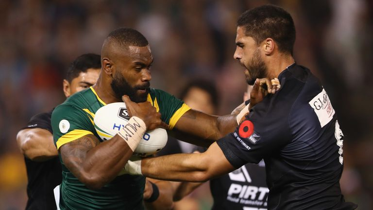 Radradra caused controversy earlier this year when he switched allegiance from his native Fiji to Australia