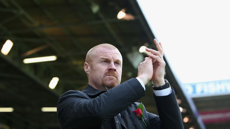 Sean Dyche was not happy with the referee after Burnley's defeat to Accrington Stanley