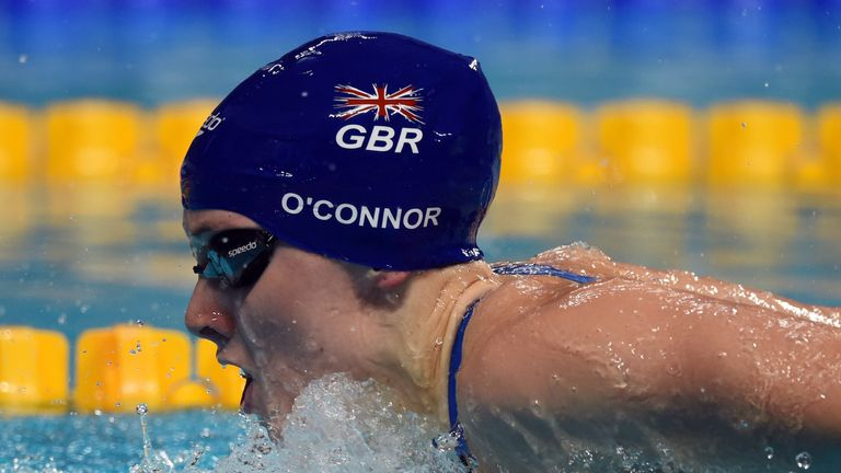 O'Connor - the one-time baby - grows up with storming Olympic silver