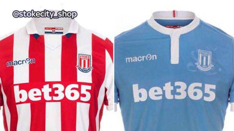 Stoke City will wear a light blue away jersey next season (image c/o Stoke City)