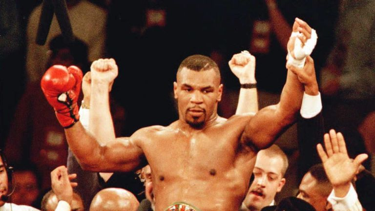 Tyson is a former undisputed heavyweight champion of the world