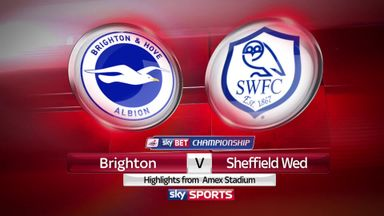 Brighton 1-1 Sheffield Wednesday (1-3 agg)