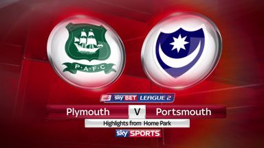 Plymouth 1-0 Portsmouth