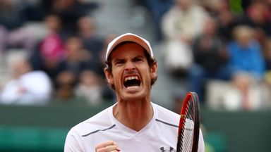Andy Murray is scheduled to play his quarter-final but how will the Parisian weather fare?