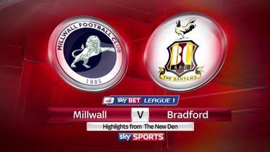 Millwall 1-1 Bradford