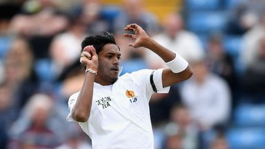 Dushmantha Chameera took the wicket of Jonny Bairstow in the Headingley Test but he is now heading home through injury