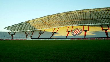 Crotia, who sometimes play at the Poljud Stadium in Split, will have to play two games in empty stadiums