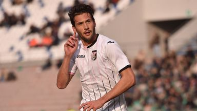 Franco Vazquez enjoyed an impressive season with Palermo in Serie A last term