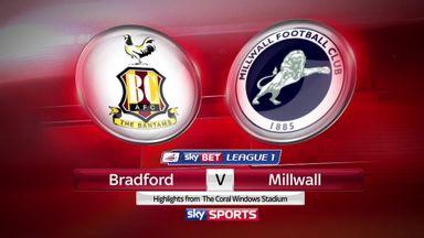 Bradford 1-3 Millwall