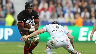 Maro Itoje picked up yet another man of the match award in the Champions Cup final