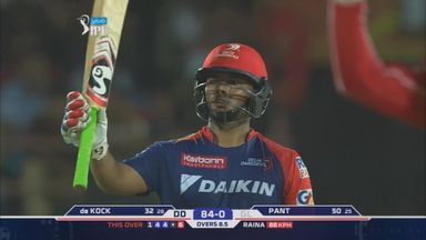Rishabh Pant hit 69 from 40 balls for Delhi