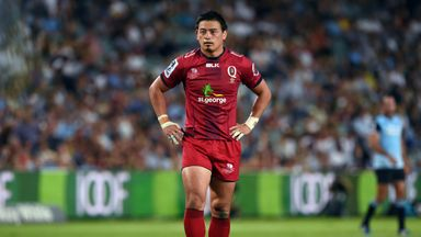 Queensland Reds and Japan full-back Ayumu Goromaru