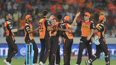 Sunrisers Hyderabad are the 2016 IPL champions