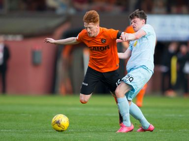 James Penrice (r): Hailed as the future of Partick Thistle