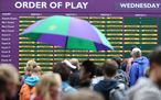Wimbledon: Day Three