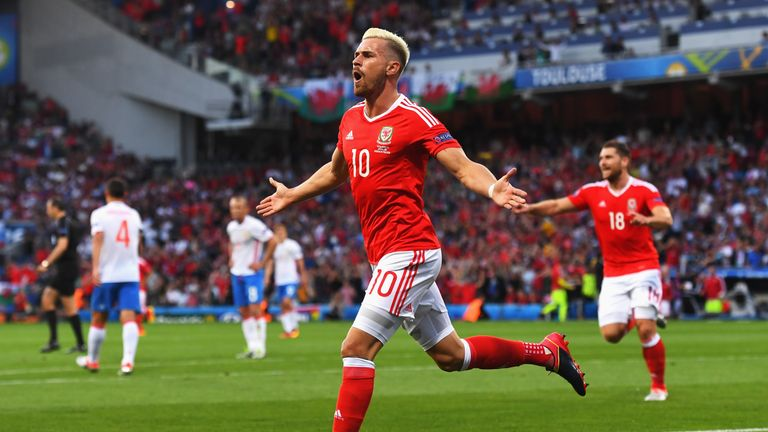Aaron Ramsey was named in UEFA's Team of the Tournament
