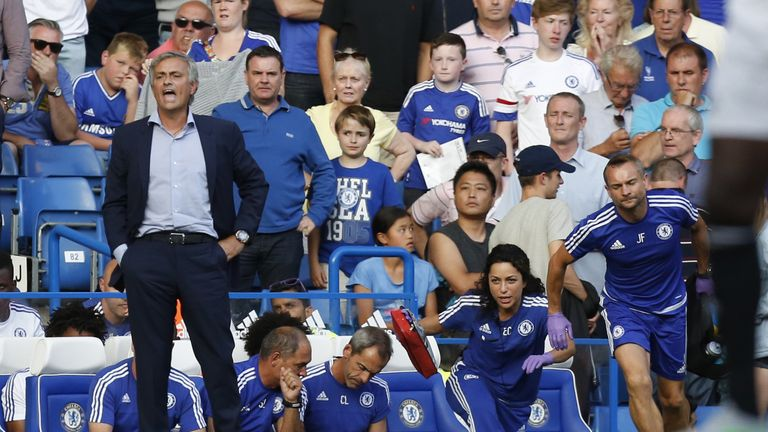 Mourinho says he never lost the support of the fans at Stamford Bridge