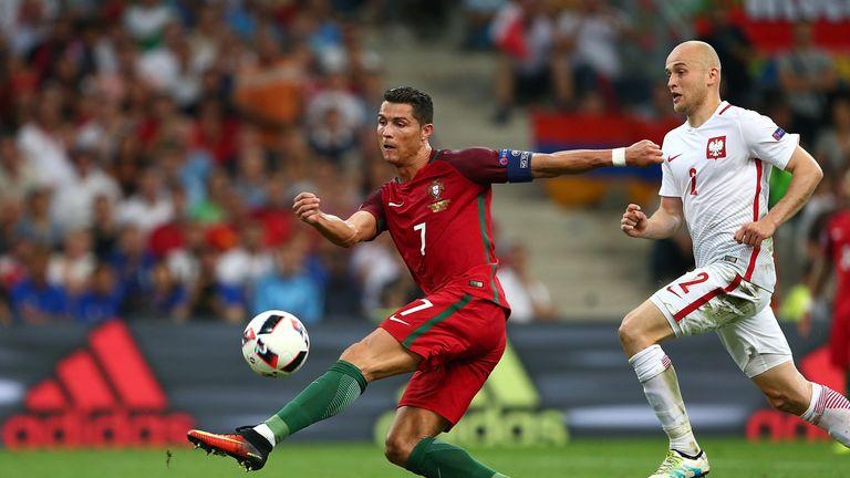 Cristiano Ronaldo wastes a chance against Poland