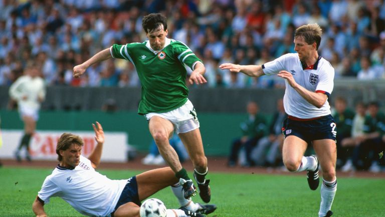 England lost 1-0 to Republic of Ireland at Euro '88
