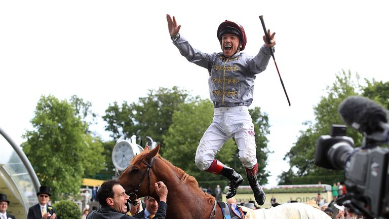 Frankie Dettori y Toast of New York harán dupla en la Pegasus World Cup