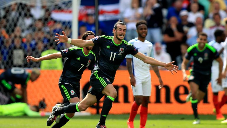 Gareth Bale opened the scoring with a first-half free-kick