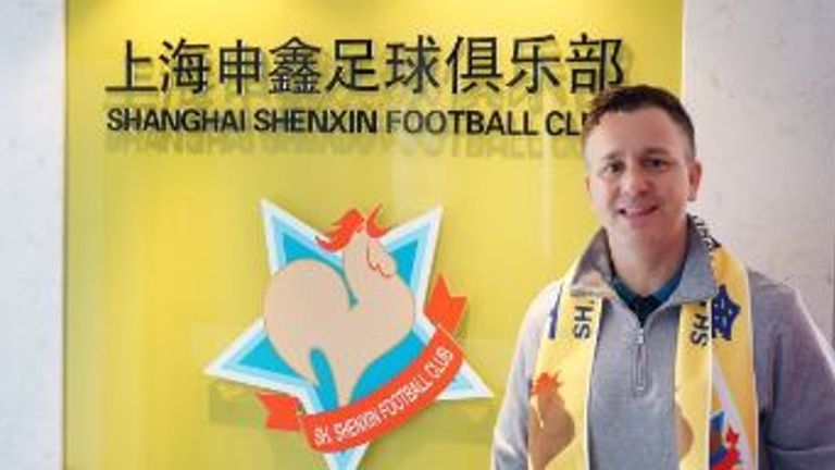 Gary White has been appointed as the new coach of Shanghai Shenxin