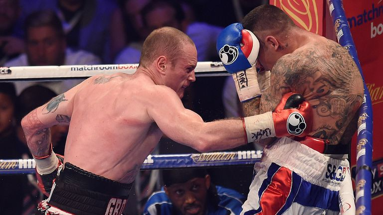 George Groves beat Martin Murray on points in June