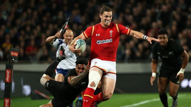 George North made 106 metres during their opening Test at Eden Park