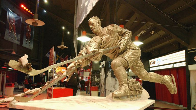 Howe's achievements are already commemorated by a statue inside the Joe Louis Arena