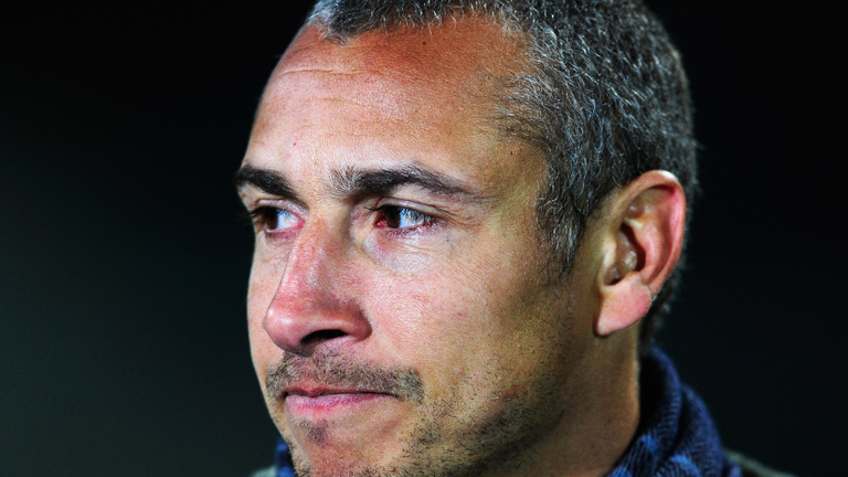 Henrik Larsson and son viciously attacked moments after their team is relegated